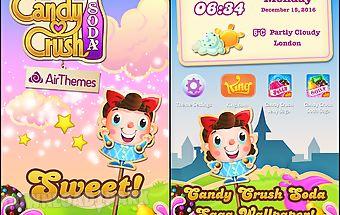 Candy crush soda air theme