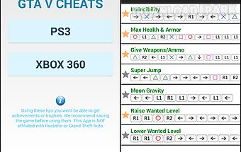 Cheats gta 5