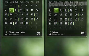 Ez calendar widget