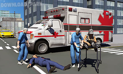 ambulance driver 3d parking