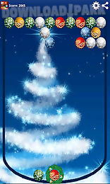 christmas balls bubbles