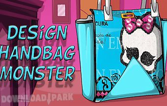 Design handbag monster