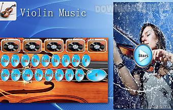 Real violin music