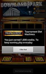tournament slot machine