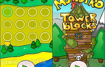 Tower blocks monstro