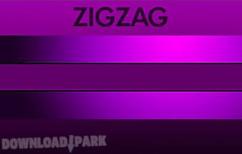 Zigzag 3d: hit wall