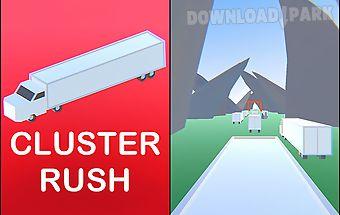 Cluster rush: crazy truck