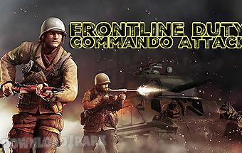 Frontline duty commando attack