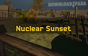Nuclear sunset