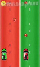 2 cars racing