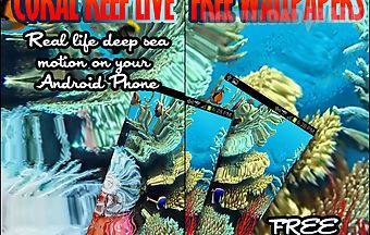 Coral reef live wallpaper free