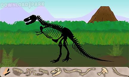 dinosaur excavation: t-rex