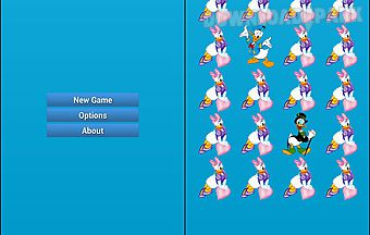 Donald duck match up game