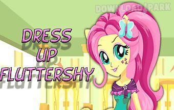 Dress up fluttershy pony