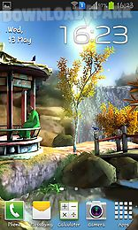 oriental garden 3d