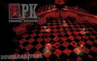 P.k. paranormal investigation