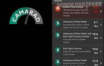 Camarad - speed radar alert
