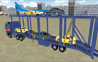 Cargo plane car transporter