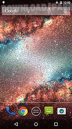 galaxy dust live wallpaper