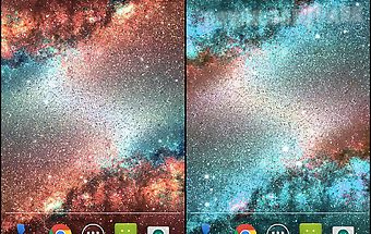 Galaxy dust live wallpaper