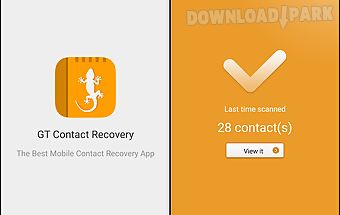 Gt contact recovery