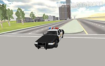 Police car simulator 2016