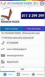 slt rainbow pages
