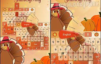Thanksgiving go keyboard theme
