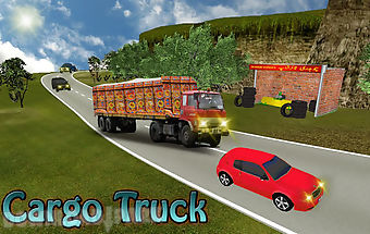 Truck simulator off road drive