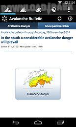 white risk - slf avalanche app