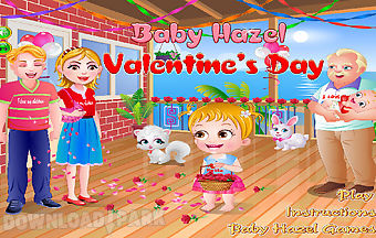 Baby gril valentines day