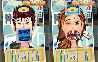 Boy and girl dental clinic