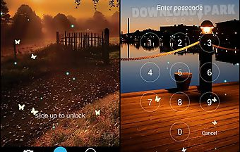 Butterfly locksreen
