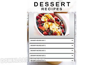 Dessert recipes 2