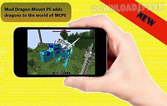 Dragon mounts mod for mcpe