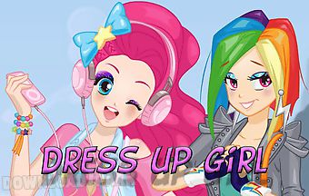 Dress up modern pony girl