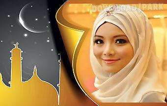Eid mubarak season photo frame