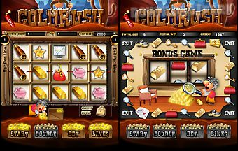 Gold rush slots machines