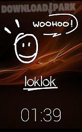 loklok: draw on a lock screen