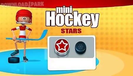 mini hockey: stars