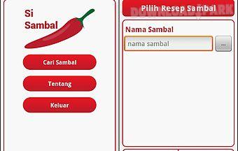 Si sambal indonesia