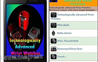Technologically advanced wrist w..