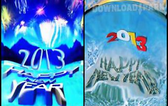 Touch ripples new year hd live w..