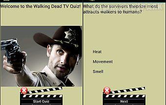 Walking dead trivia quiz