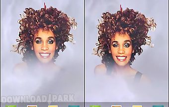 Whitney houston live wallpaper