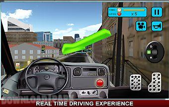Bus driver simulator 3d