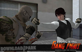 Hong kong gang fight