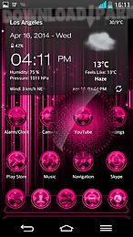 next launcher 3d prings theme