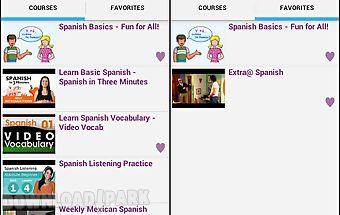 Spanish conversation courses