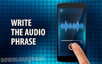 Voice audio mix